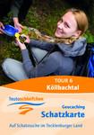 Geocaching Faltplan Köllbachtal