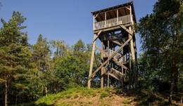 Förderturm im Buchholzer Forst