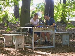 Outdoor-Tischset der Teutoschleifchen