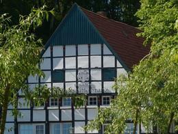 Giebel des Alten Gasthauses Franz