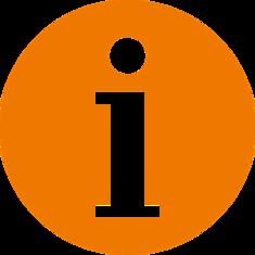 oranges Infoschild